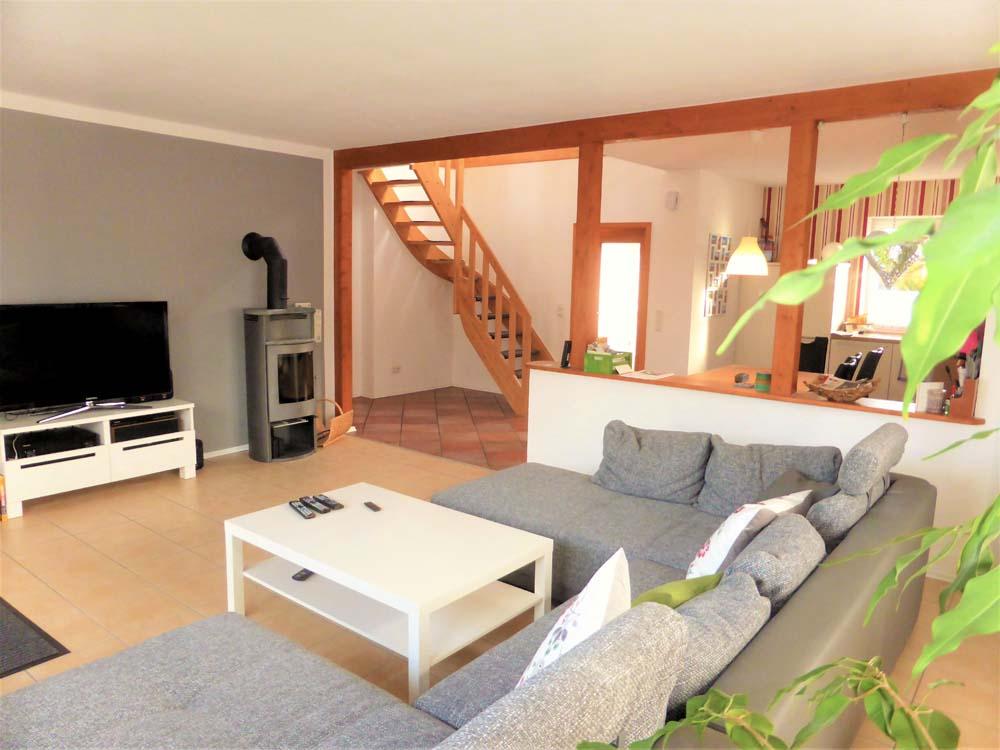 galeriehaus in elsfleth in n he zum weserstrand. Black Bedroom Furniture Sets. Home Design Ideas